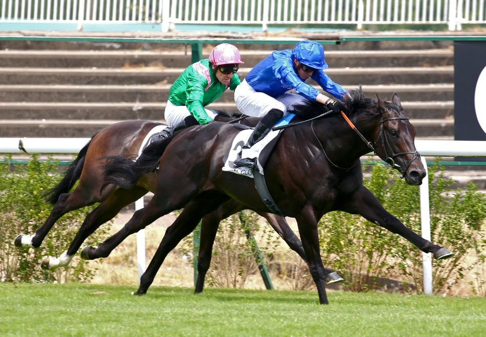 Hydrangea (Galileo) winning the G1 QIPCO British Champions Fillies & Mares Stakes at Ascot