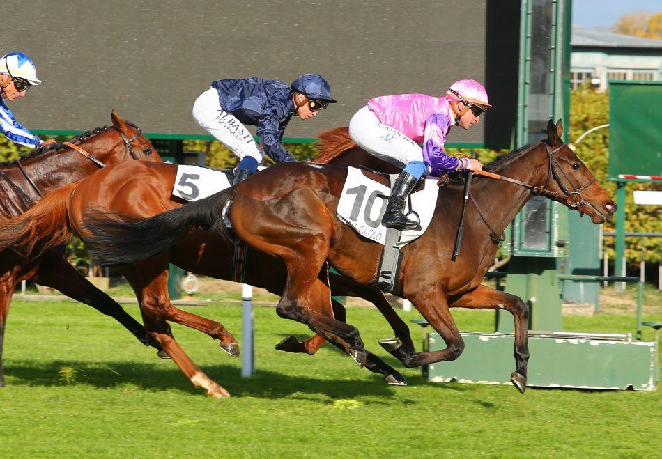 Winter (Galileo) winning the Coronation Stakes at Royal Ascot