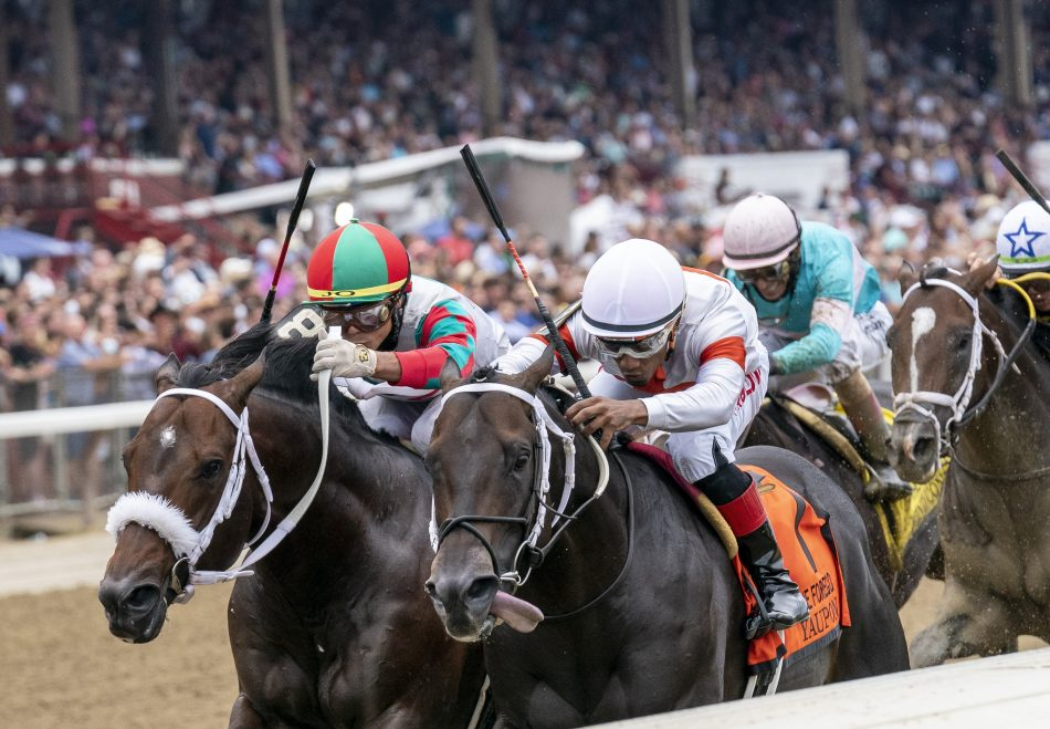 Rally Cry (Uncle Mo) winning the Alydar Stakes at Saratoga