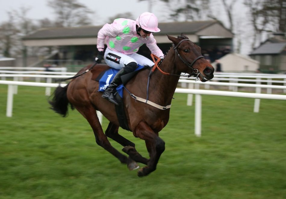The Getaway Star (Getaway) winning the mares bumper at Cork
