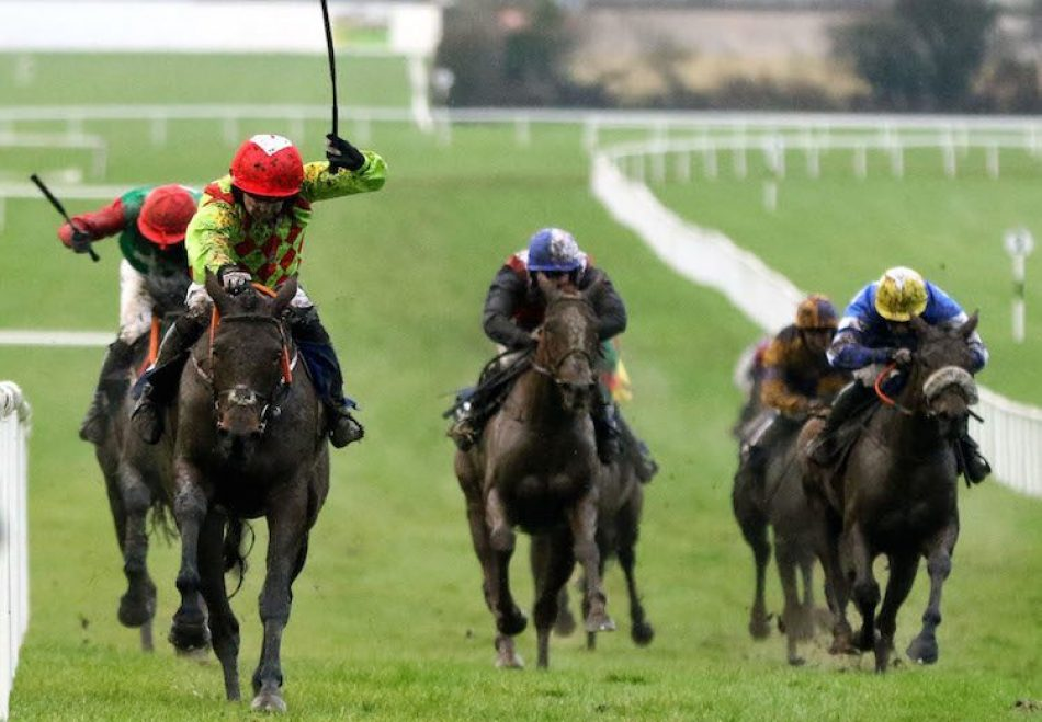 Latrobe (Camelot) winning the Gr.3 Ballyroan Stakes at Leopardstown