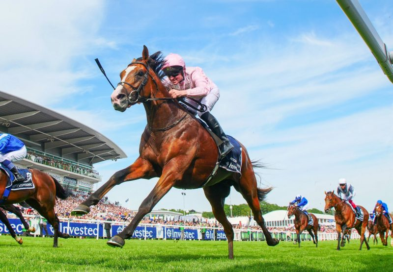 Anthony Van Dyck (Galileo) Wins The Epsom Derby