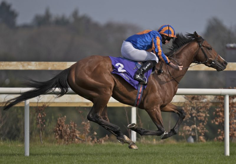 Broome (Australia) winning the G3 Ballysax Stakes at Leopardstown