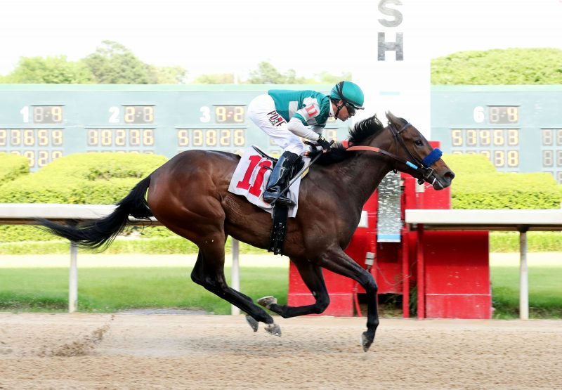 Edgeway (Competitive Edge) Winning At Oaklawn Park