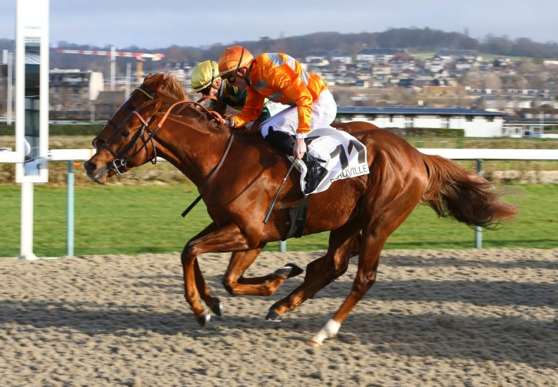 Marianafoot (Footstepsinthesand) winning at Deauville