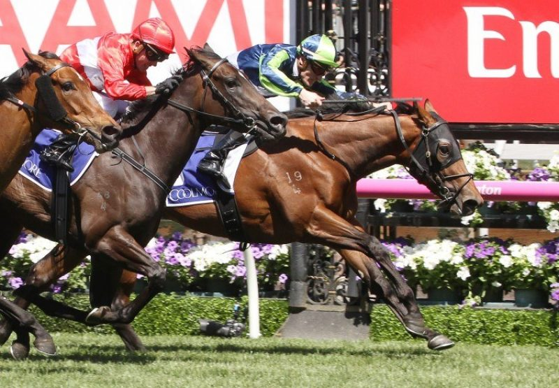 Merchant Navy (Fastnet Rock) winning the G1 Coolmore Stud Stakes