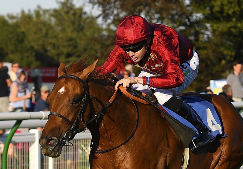 Mohican Heights (Australia) Winning The Listed Stonehege Stakes At Salisbury