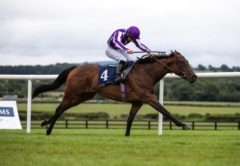 Mother Earth (Zoffany) winning the Listed Coolmore Stud Fillies Sprint Stakes at Naas
