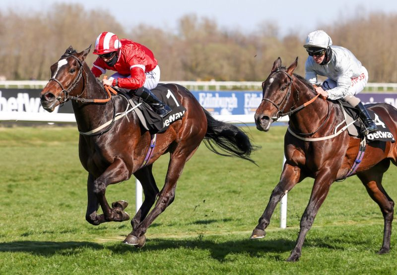 Naamoos (Wootton Bassett) Wins The Royal Mile Handicap At Musselburgh