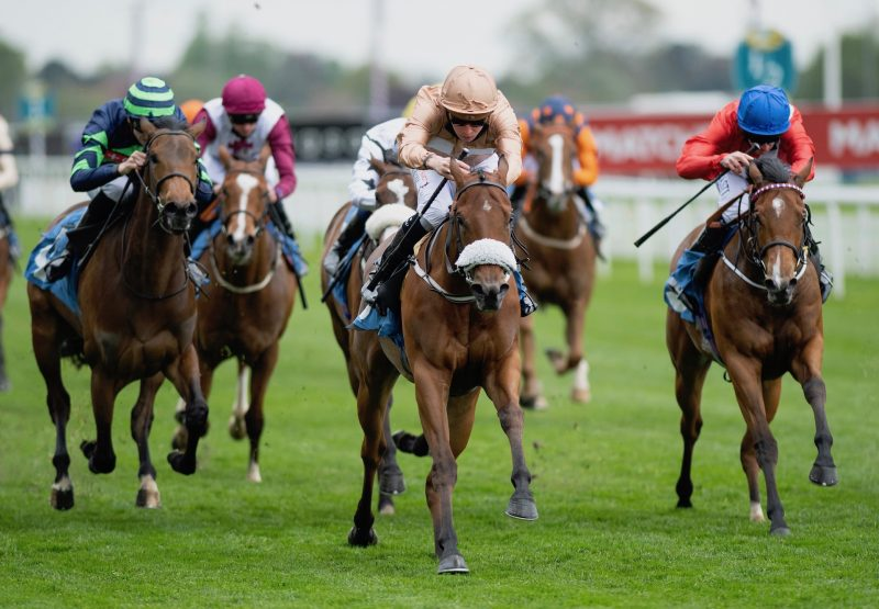 Nymphadora (No Nay Never) Wins The Listed Marygate Fillies Stakes At York