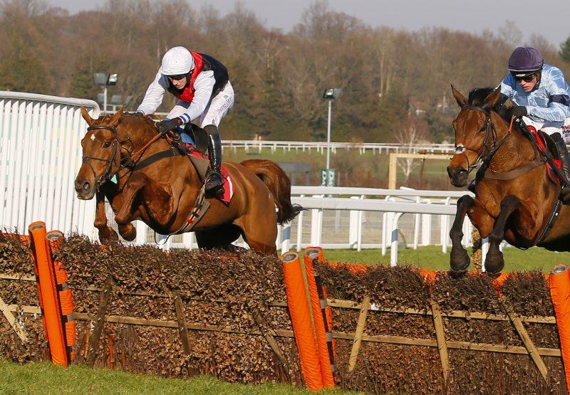 Queenohearts Is All Heart When Winning The Grade 2 Jane Seymour Hurdle At Sandown