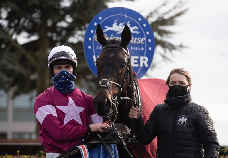 Star Max (Maxios) Wins The Beginners Chase At Fairyhouse