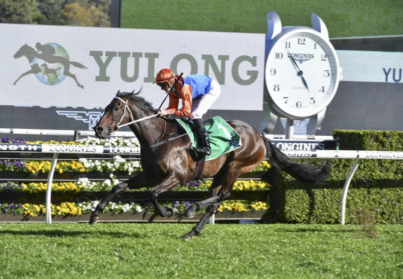 Think It Over (So You Think) winning the Gr.3 Craven Plate at Randwick