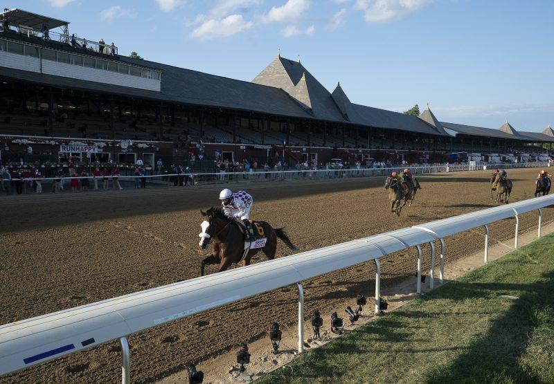 Tiz The Law Wins Gr.1 Travers at Saratoga