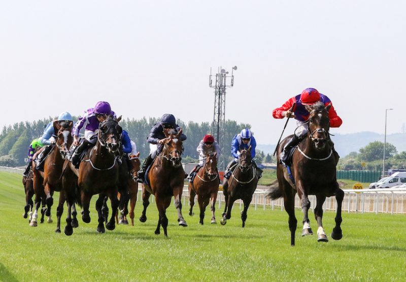 Romanised (Holy Roman Emperor) winning the G1 2,000 Guineas at the Curragh