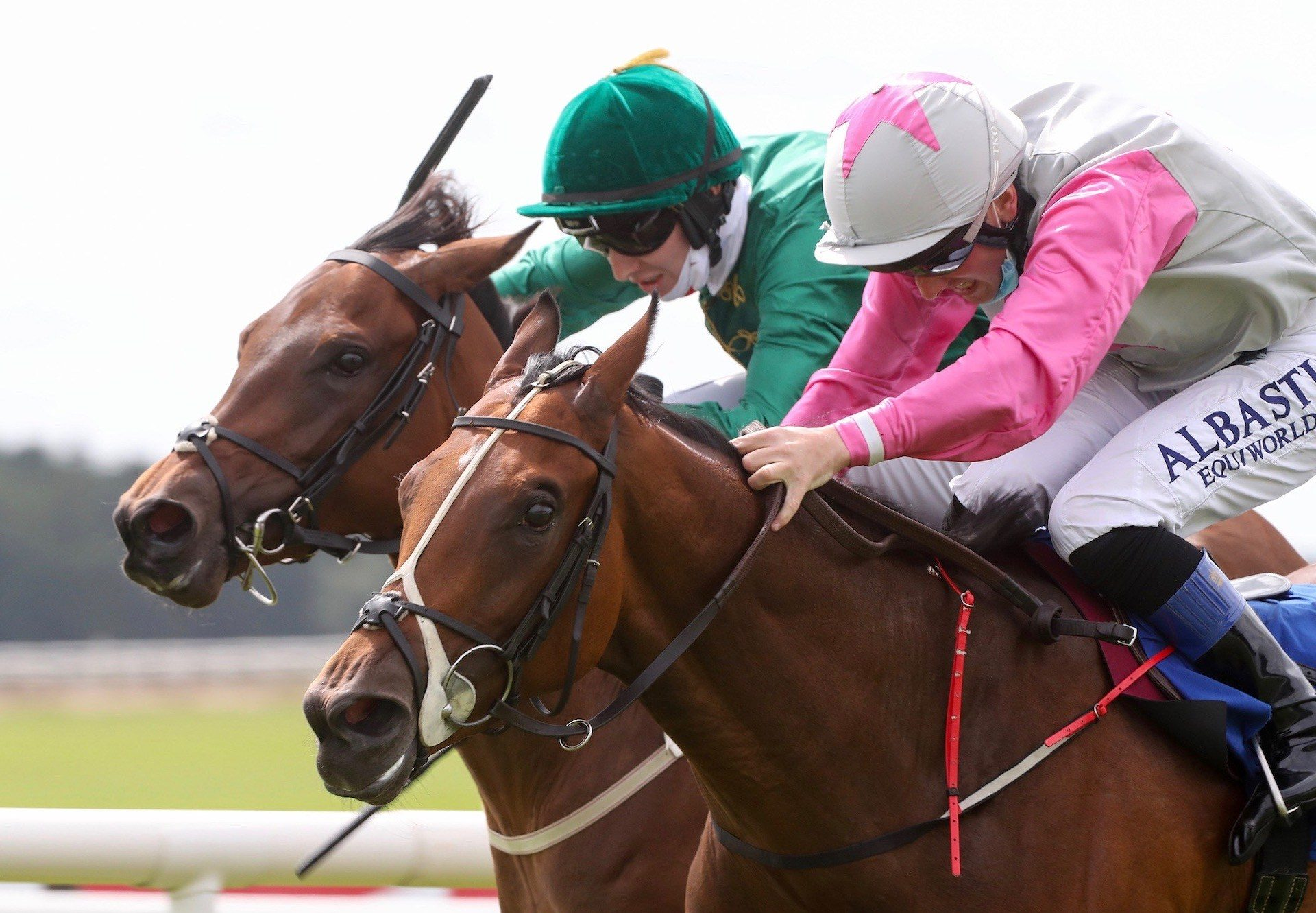 Aloha Star (Starspangledbanner) Wins The Gr.2 Airlie Stud Stakes at the Curragh