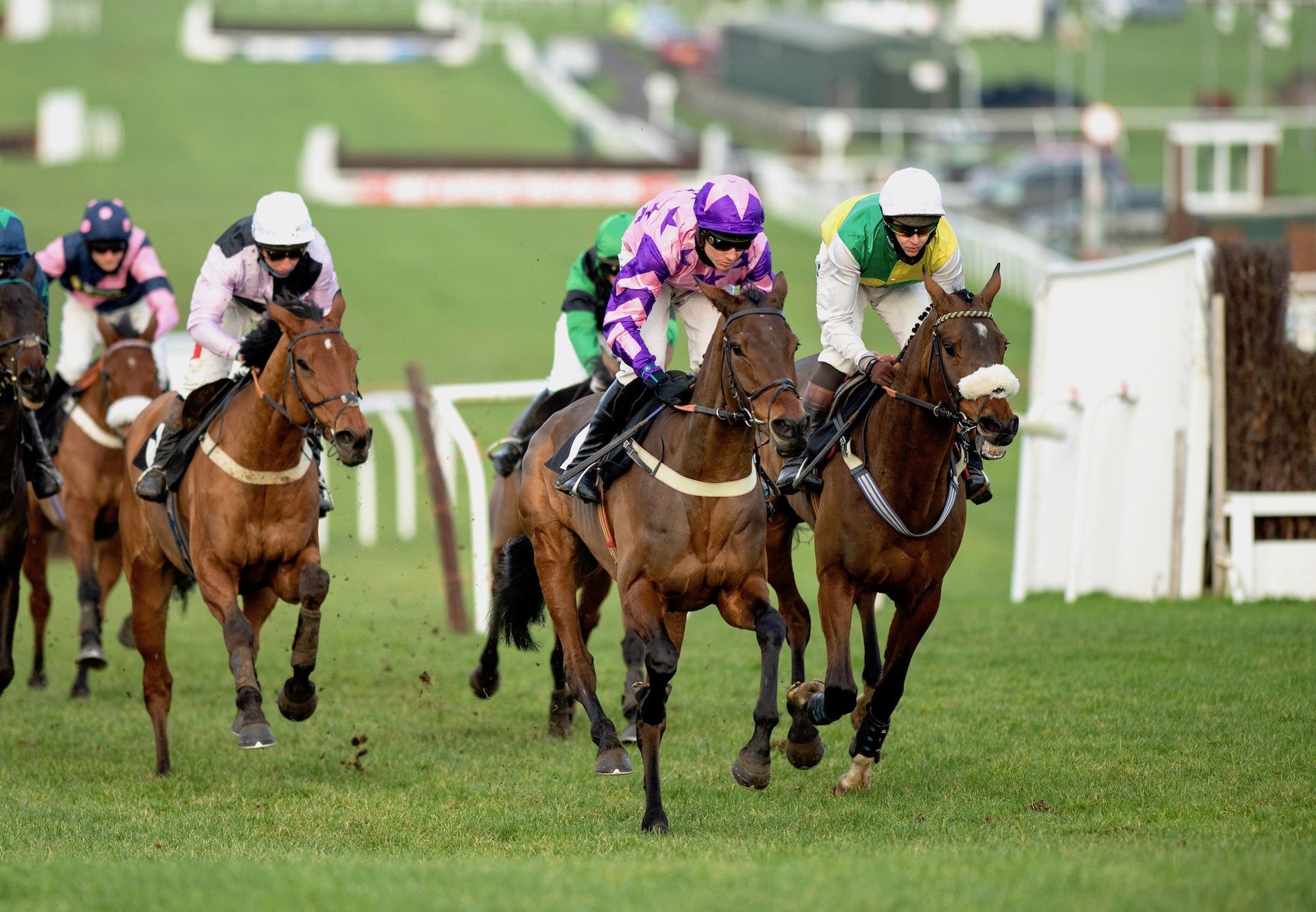 Annual Invictus (Mahler) Completed A Hat Trick In The Novices Hurdle At Plumpton