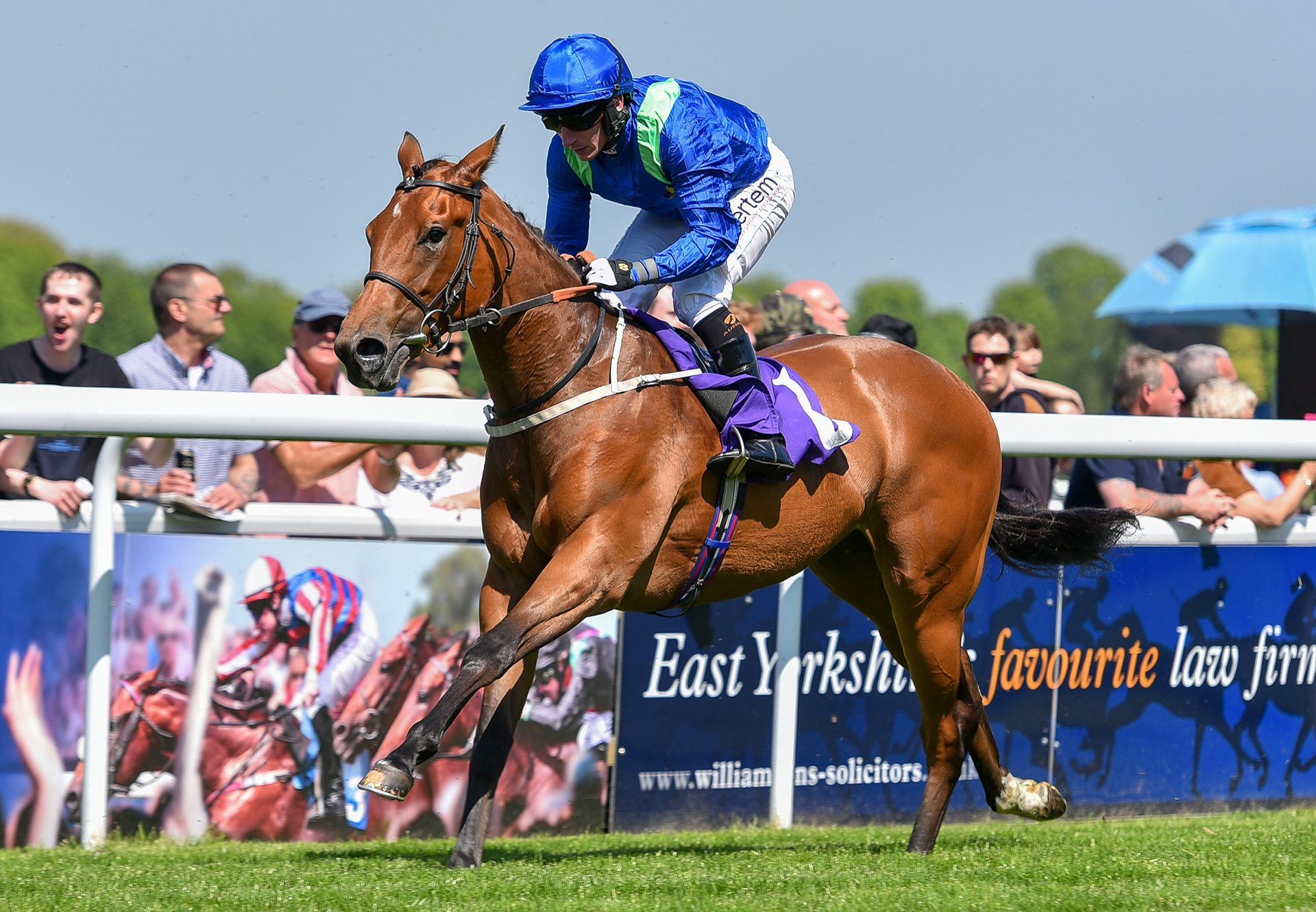 Auchterarder (Gleneagles) winning at Beverley