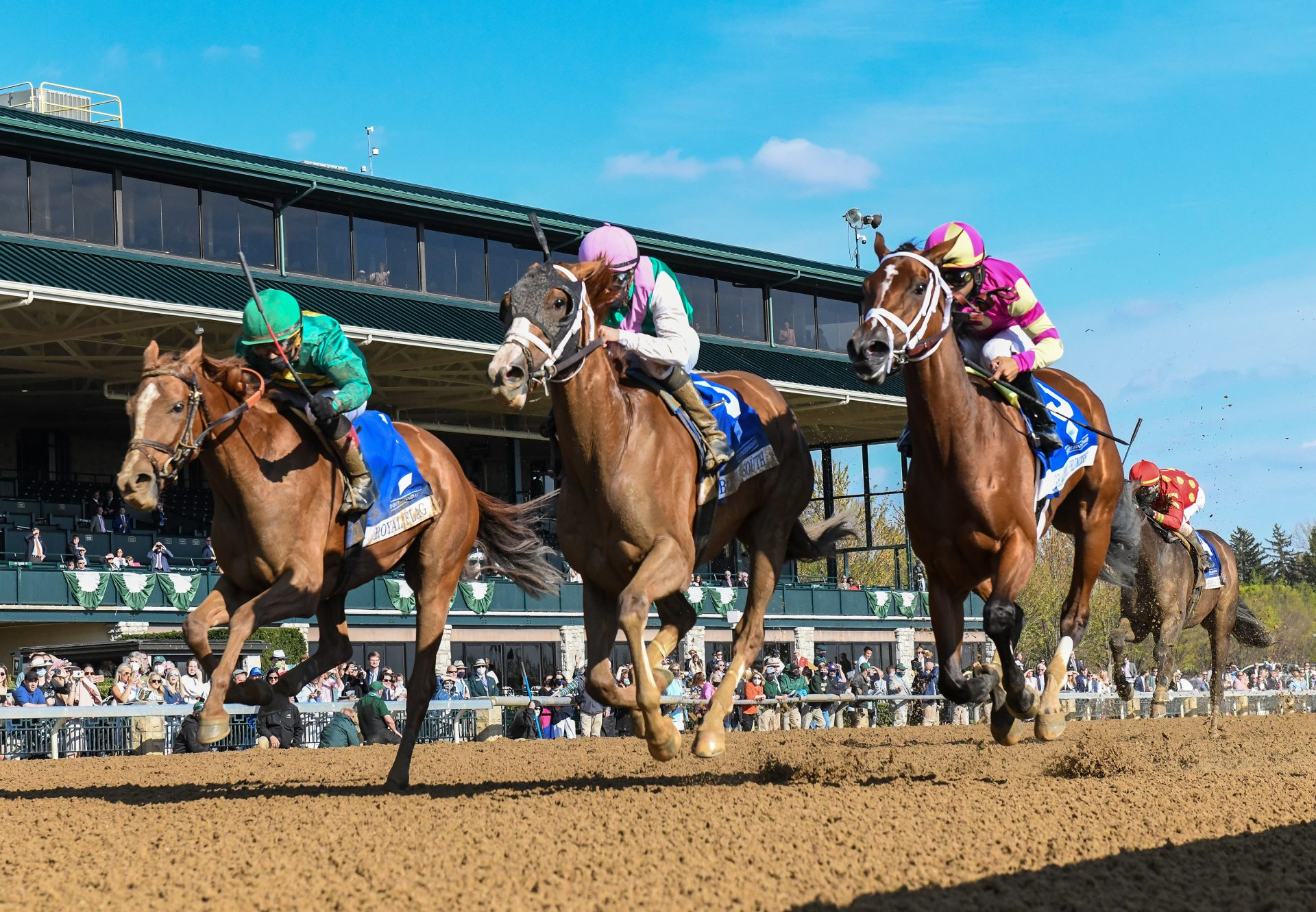 Bonny South (Munnings) Gr.3 Doubledogdare Stakes at Keeneland