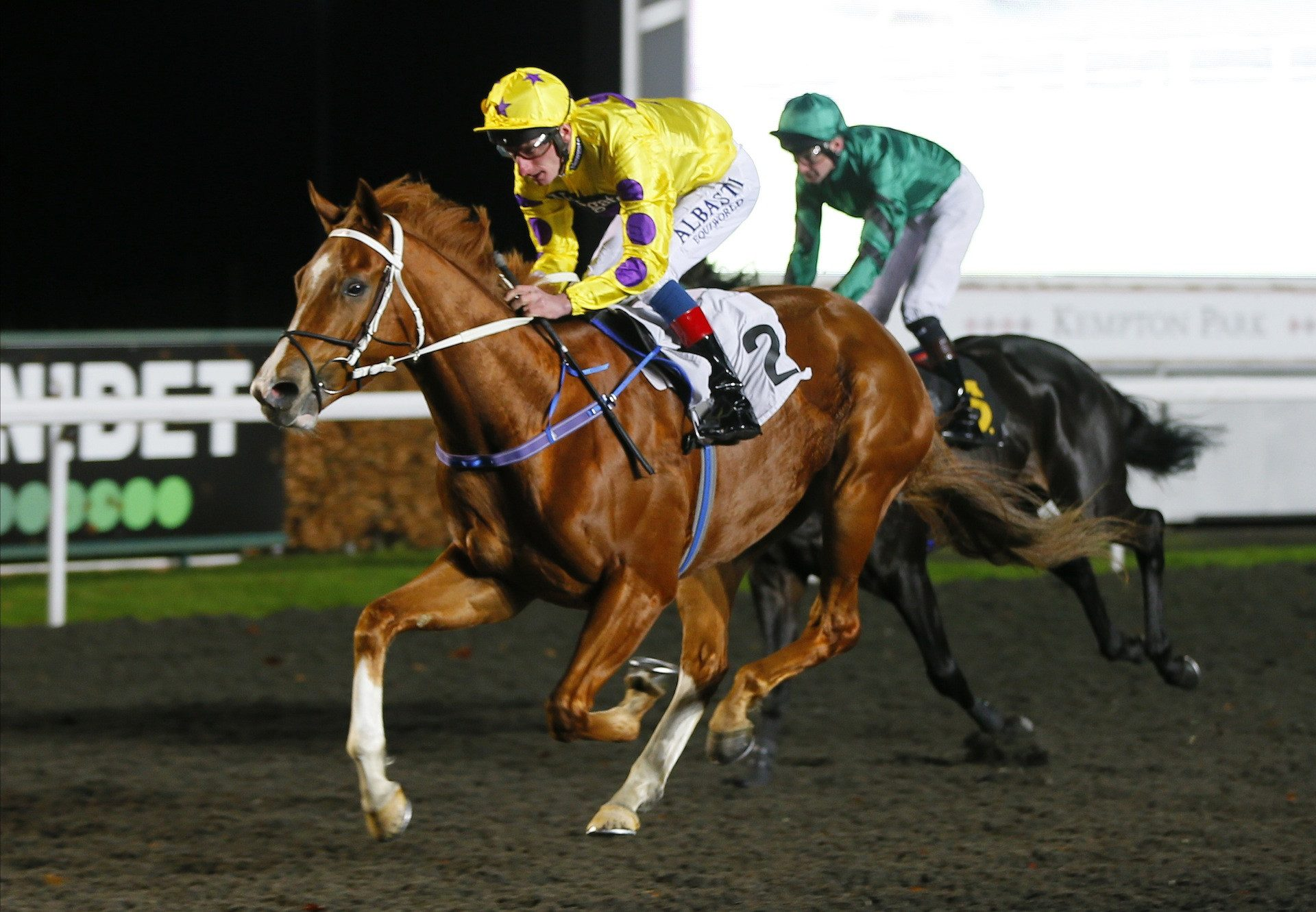 Bridgewater Bay Wins At Kempton