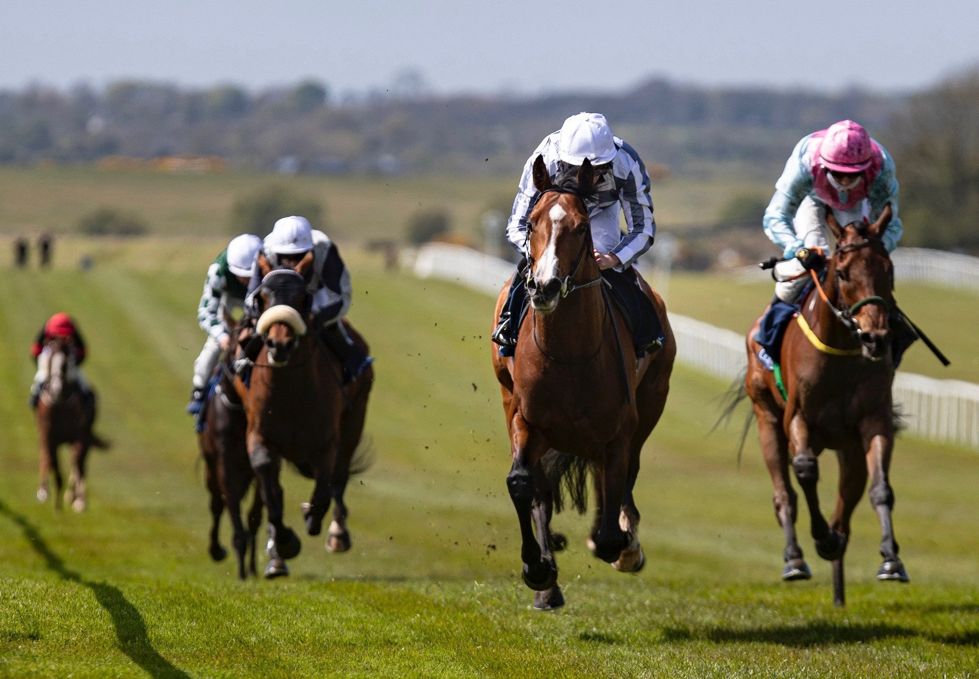 Broome (Australia) Wins The Gr.2 Mooresbridge Stakes At The Curragh