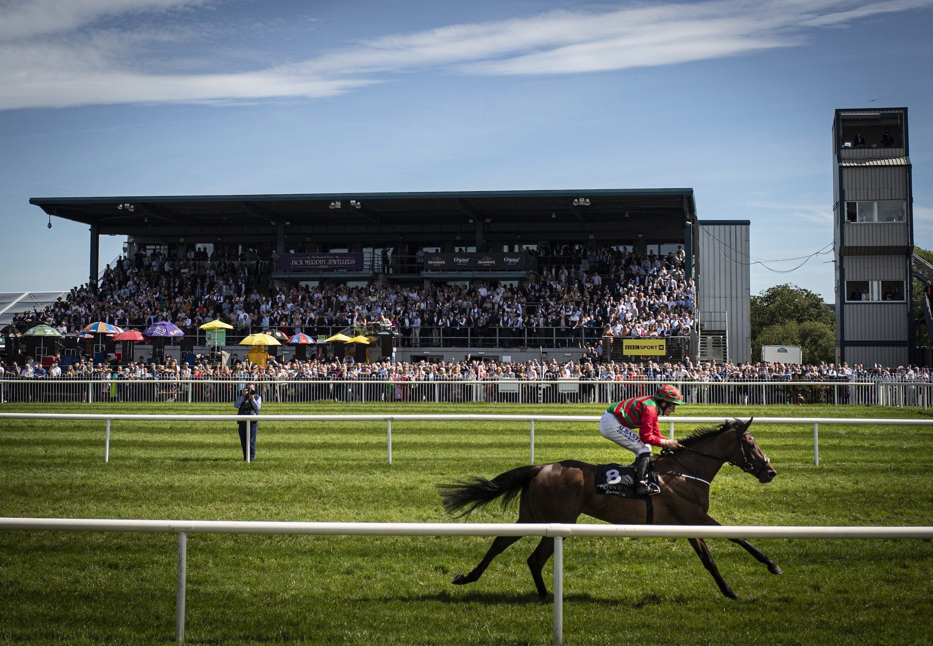 Iva Reflection (Ivawood) winning a maiden at Doncaster