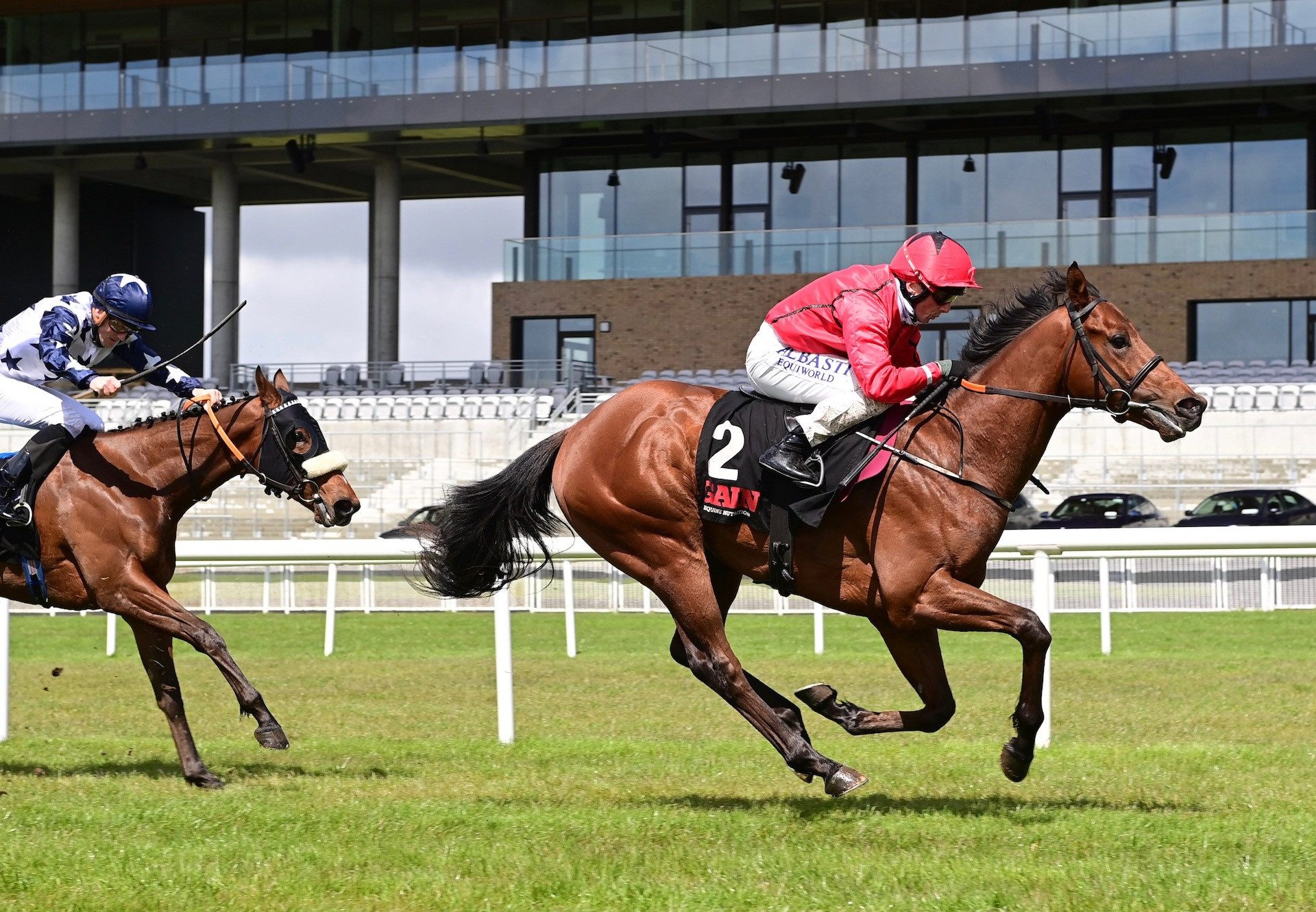 Castle Star (Starspangledbanner) Wins The Listed First Flier Stakes At The Curragh