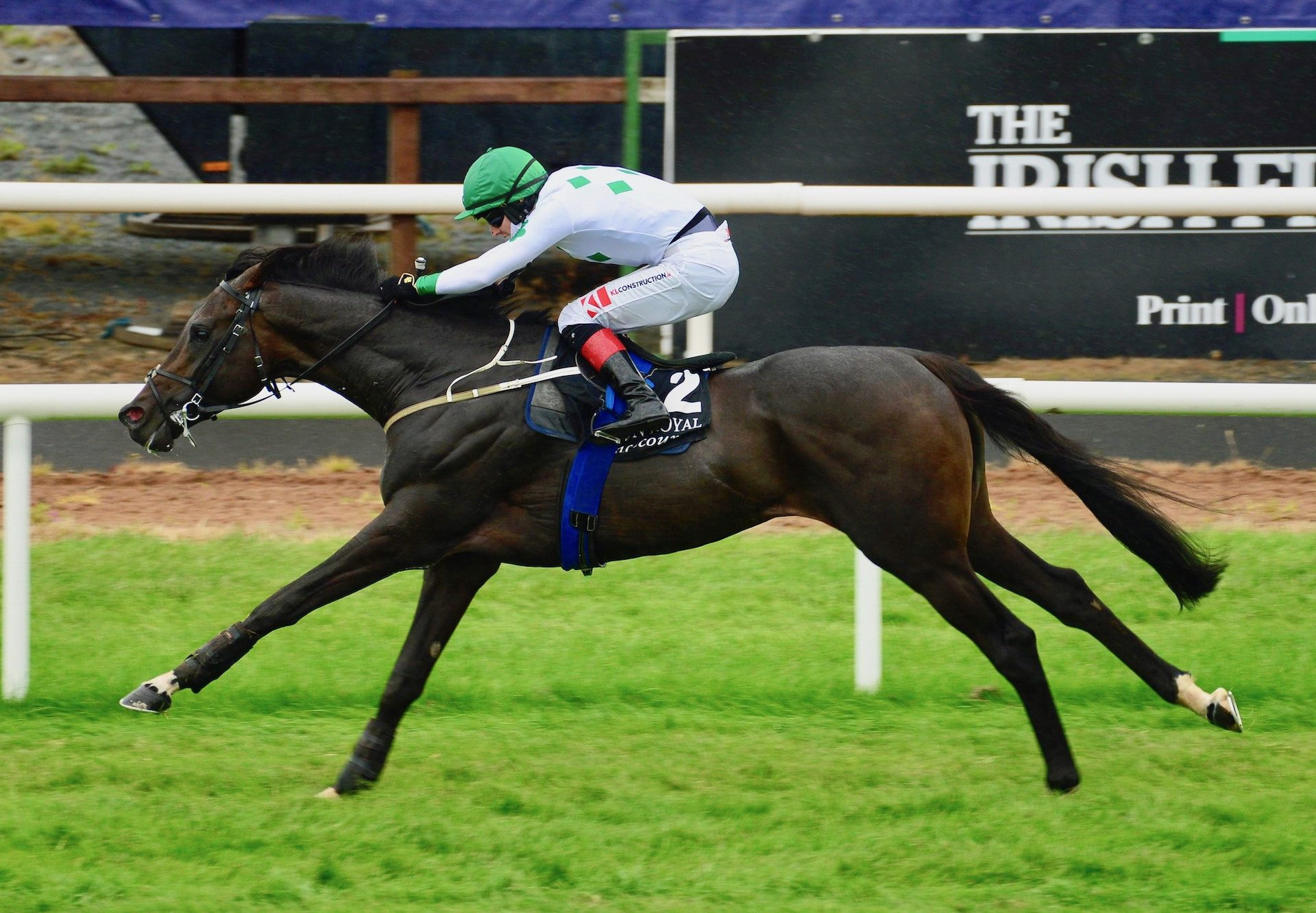 Chiricahua (Camelot) Wins Down Royal Maiden