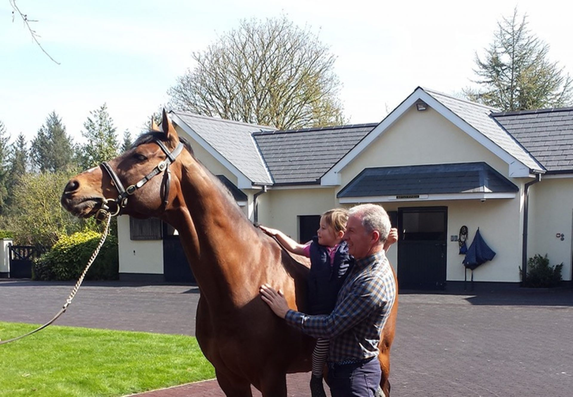 Colm Santry pictured with Galileo