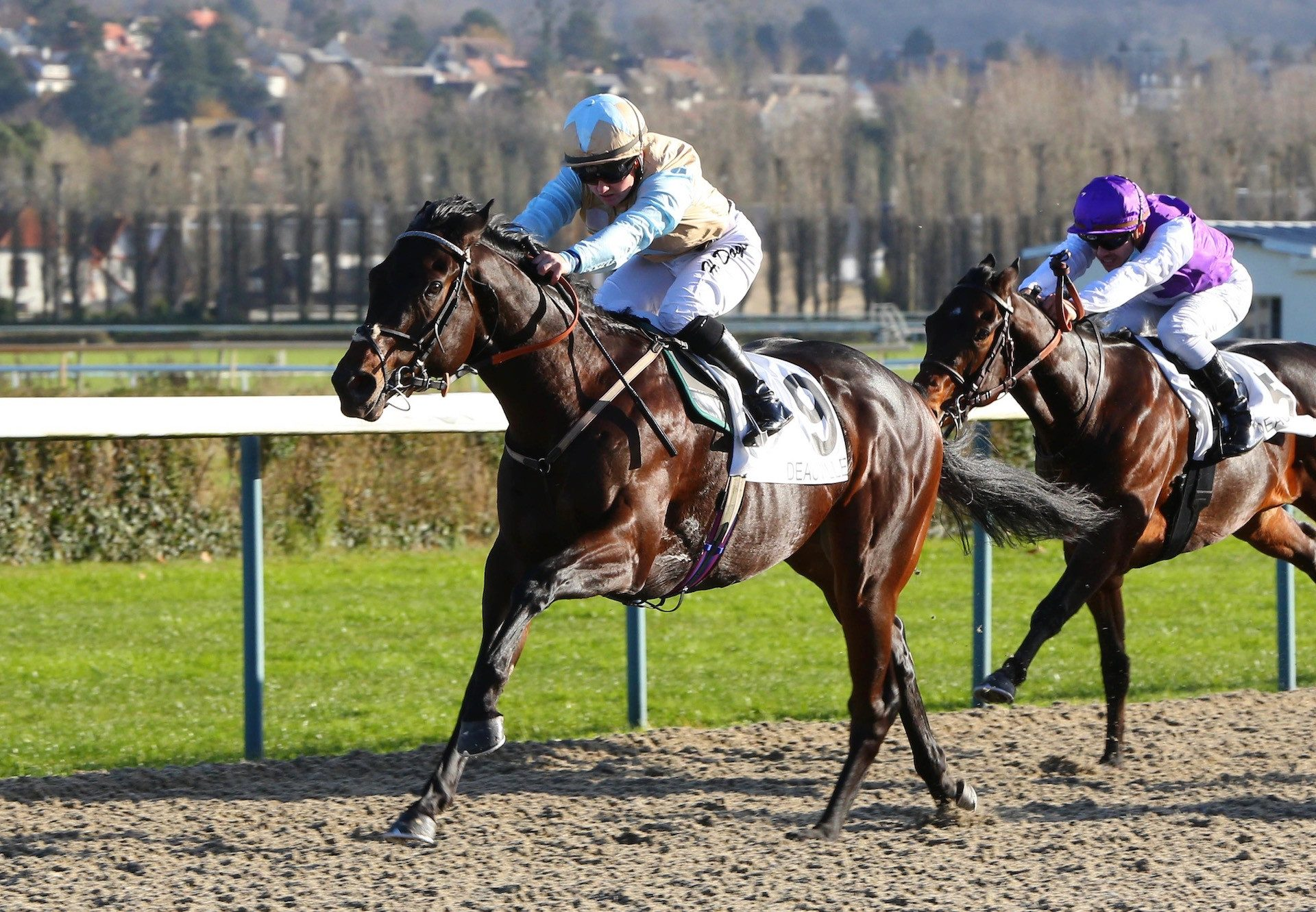 Colonel Faulkner (Wootton Bassett) Wins His Maiden At Deauville