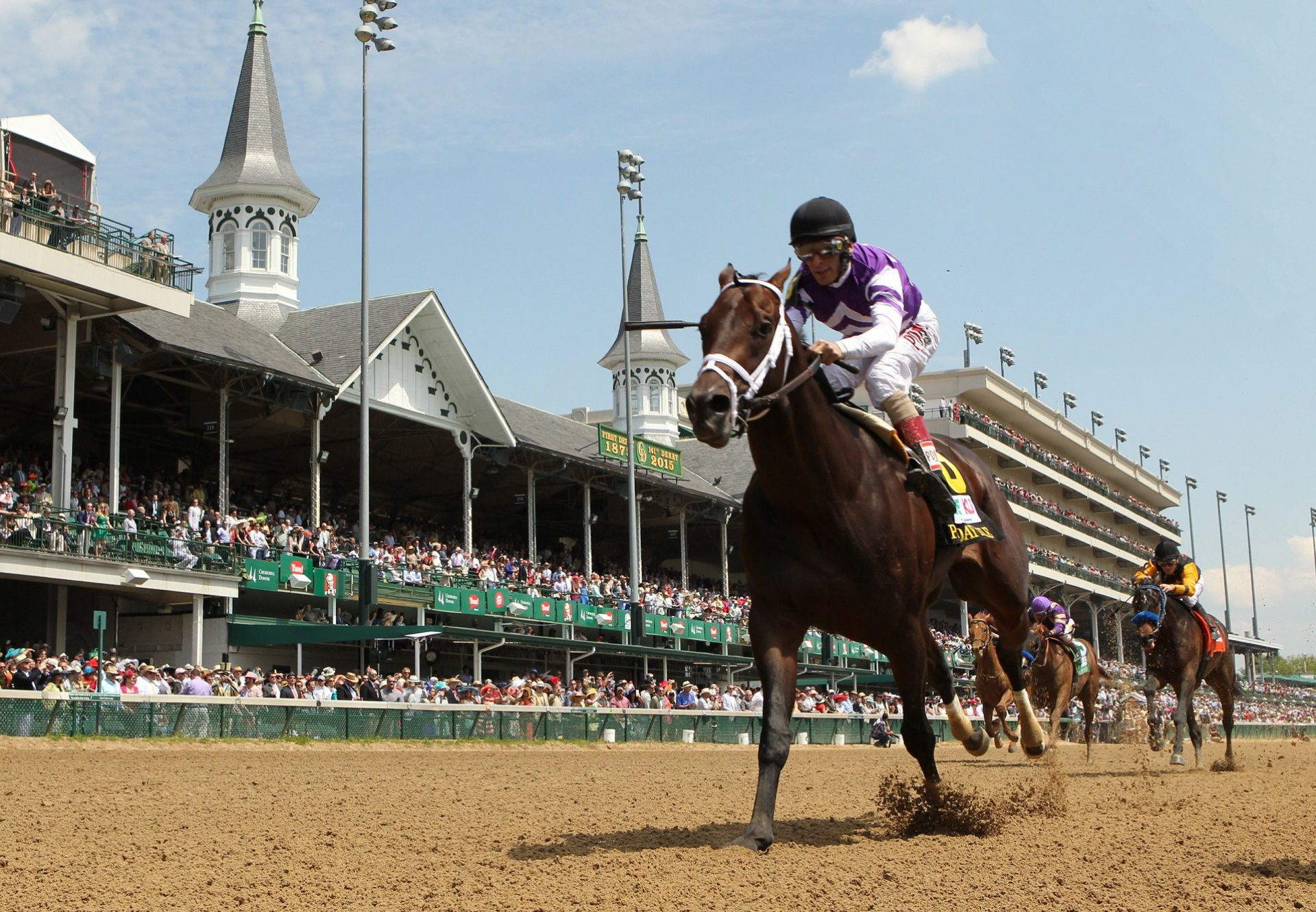 Competitive Edge Winning The Pat Day Mile Stakes at Churchill Downs