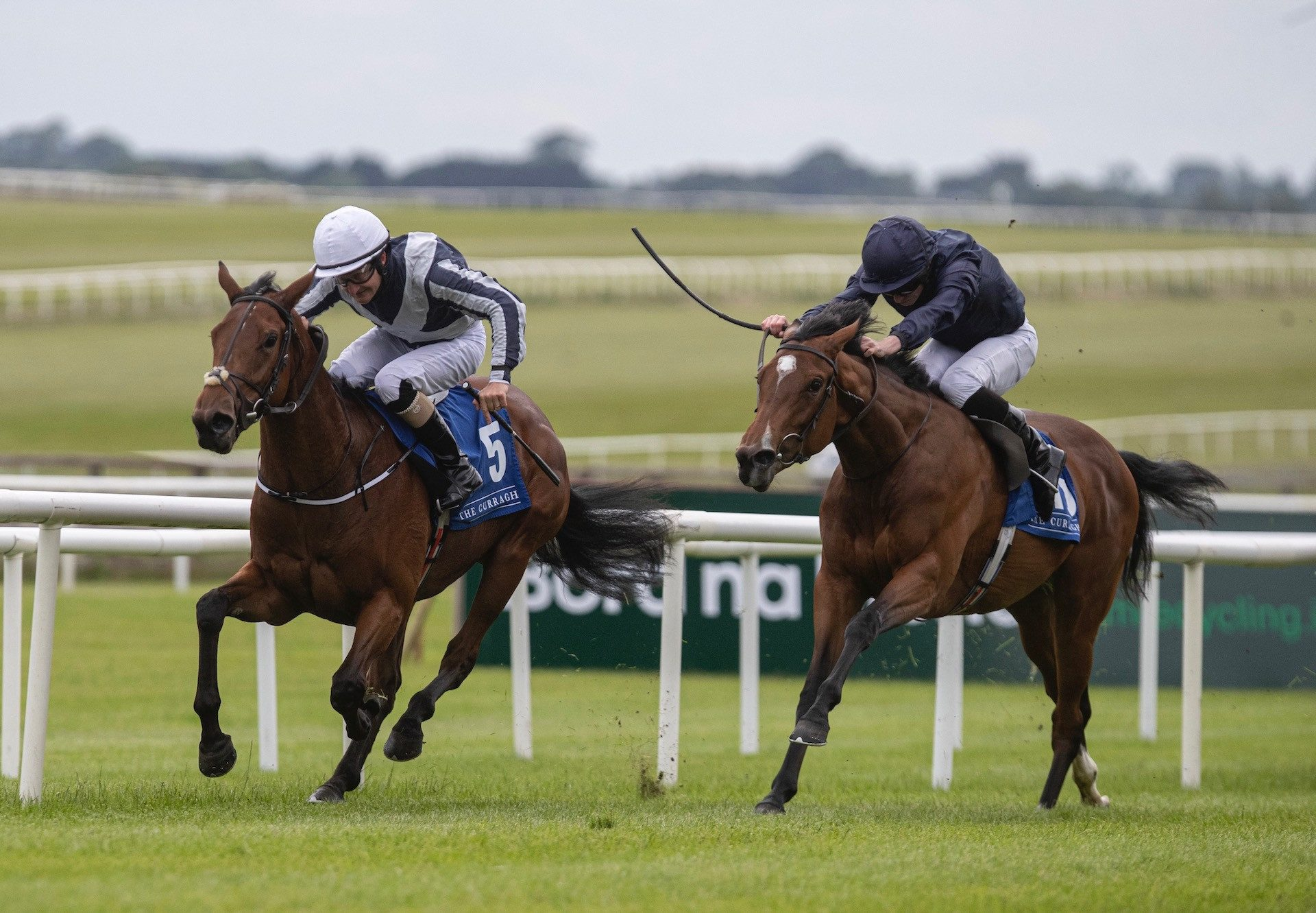 Discoveries (Mastercraftsman) Wins The Fillies Maiden At The Curragh