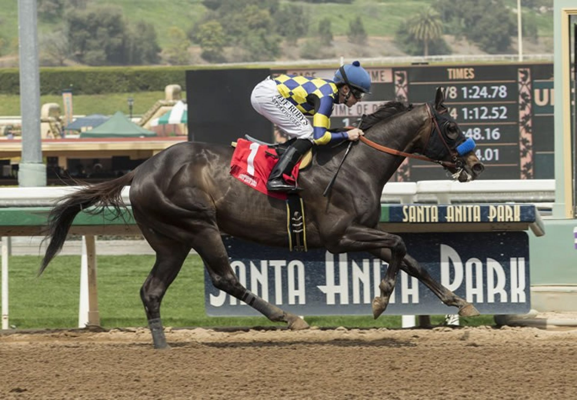 Dr Dorr (Lookin At Lucky) winning the G2 Californian Stakes at Santa Anita