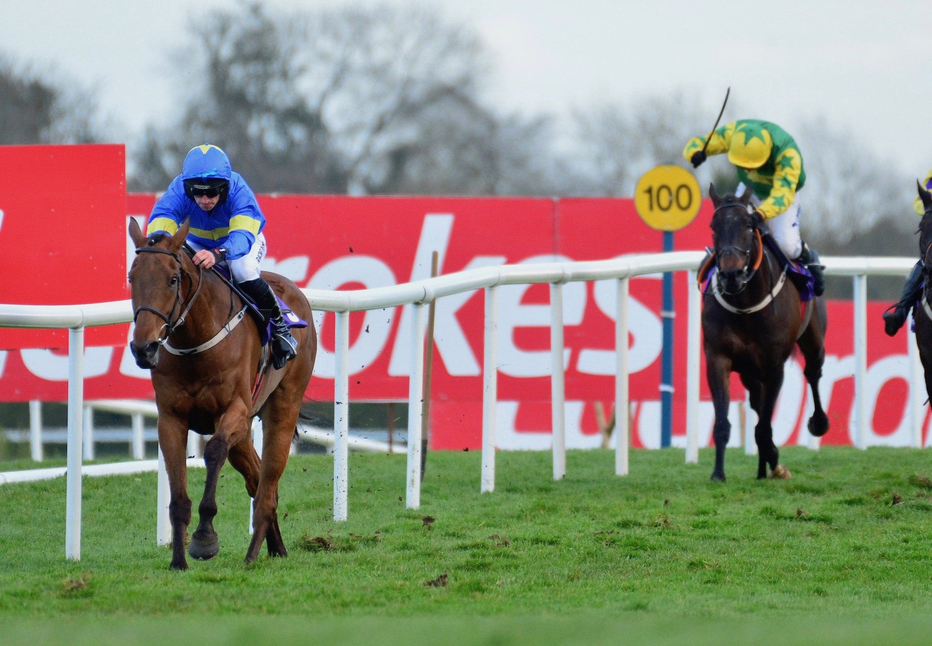 Dysart Dynamo (Westerner) Wins The Bumper At Punchestown