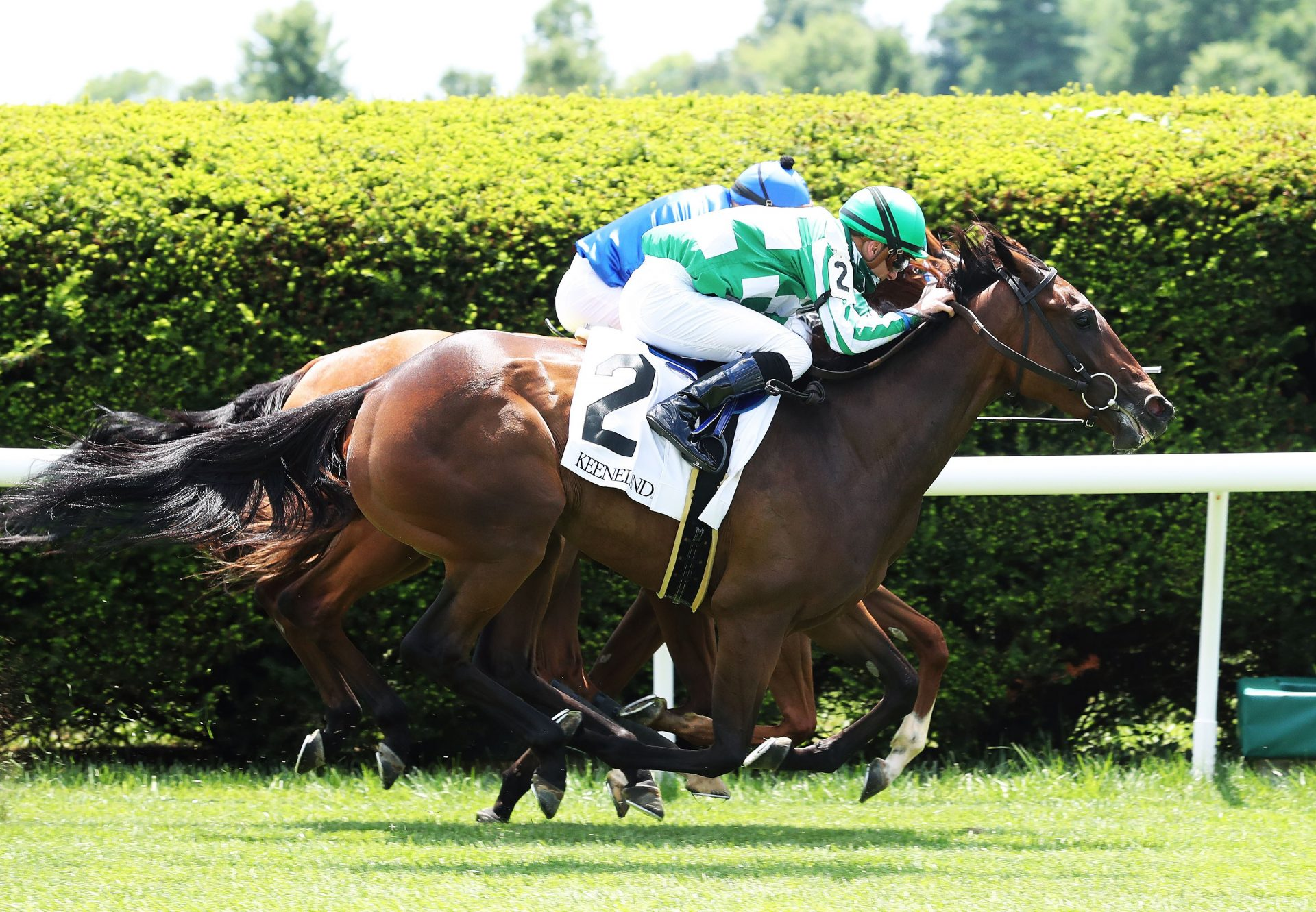 Enola Gay (Uncle Mo) Winning Gr.2 Appalachian Stakes at Keeneland