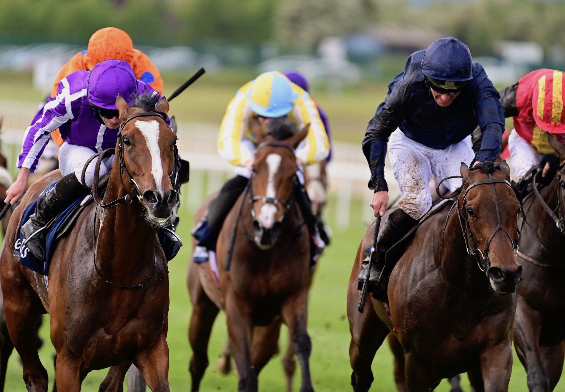 Empress Josephine (Galileo) Denies Joan Of Arc In The Irish 1000 Guineas at the Curragh