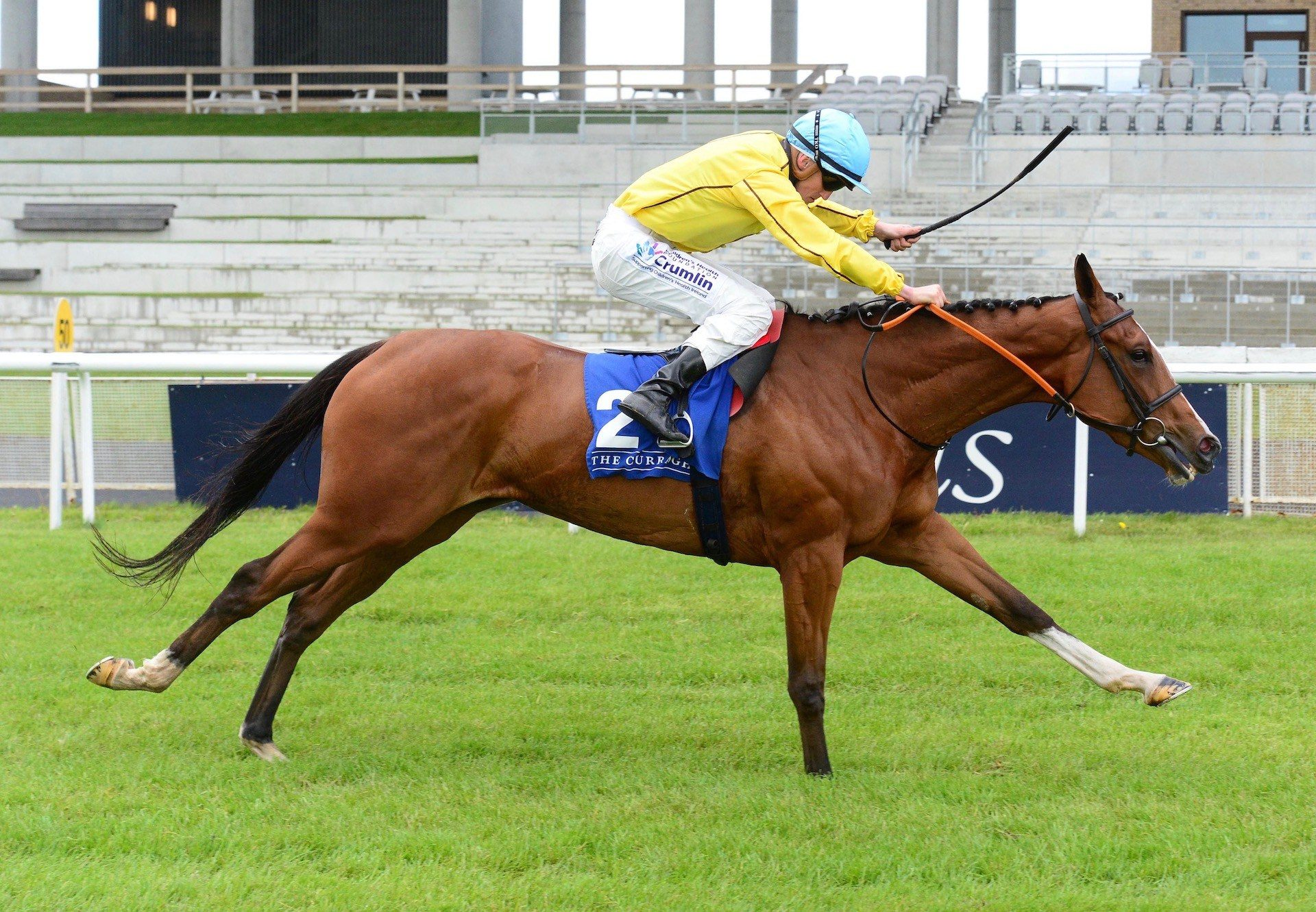 Epona Plays (Australia) Wins The Group 2 Lanwades Stud Stakes At The Curragh