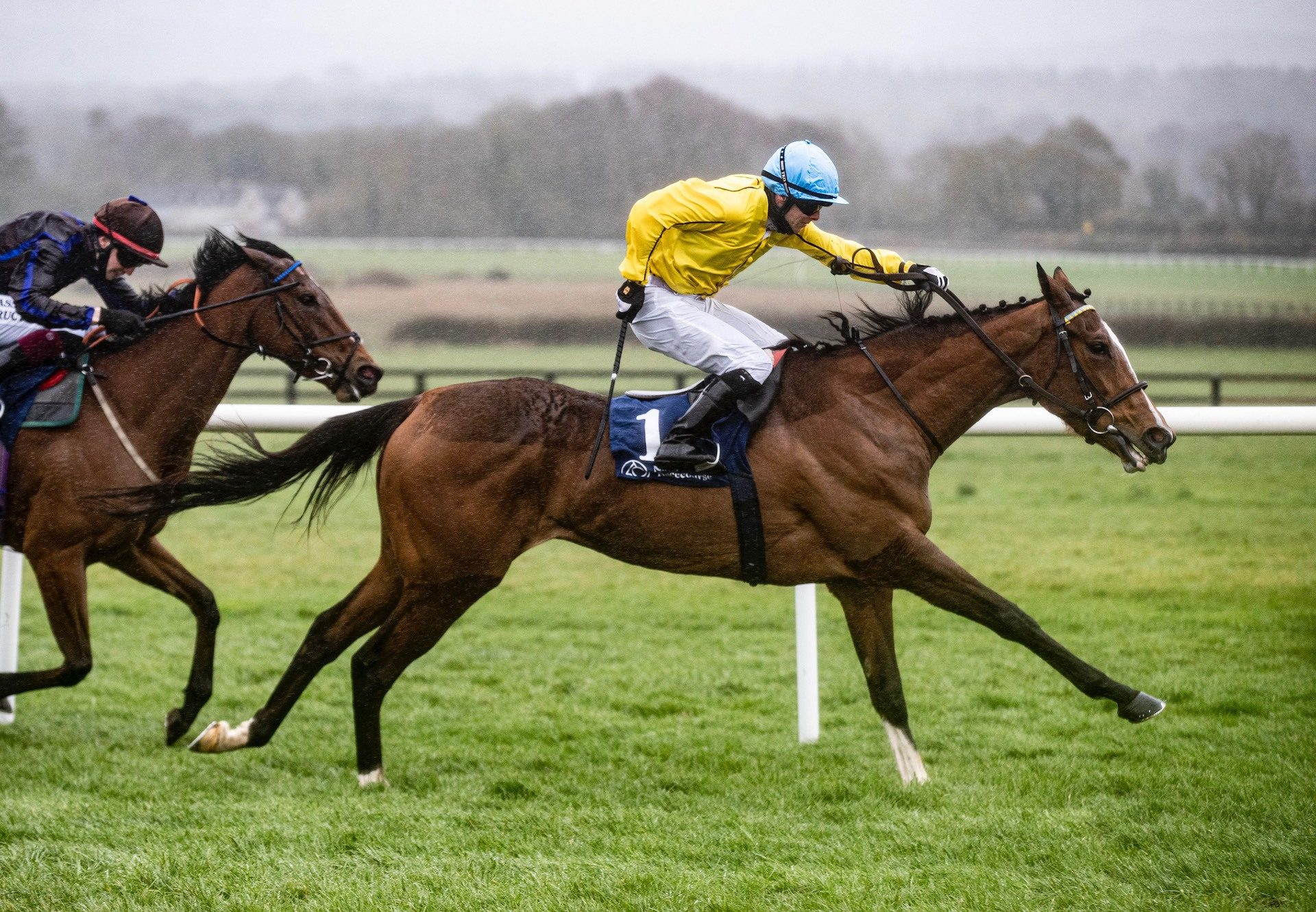 Measure Of Time (Gleneagles) winning the Listed Prix Michel Houyvet at Deauville