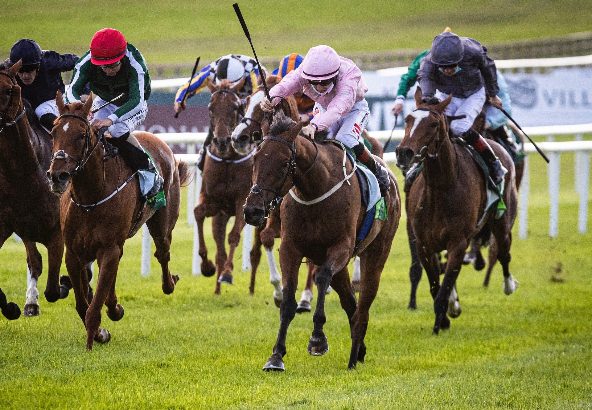 Even So (Camelot) Wins The Gr.1 Irish Oaks at the Curragh
