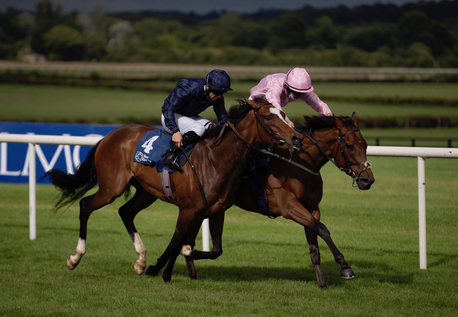 Even So (Camelot) Wins The Listed Oaks Trial at Naas