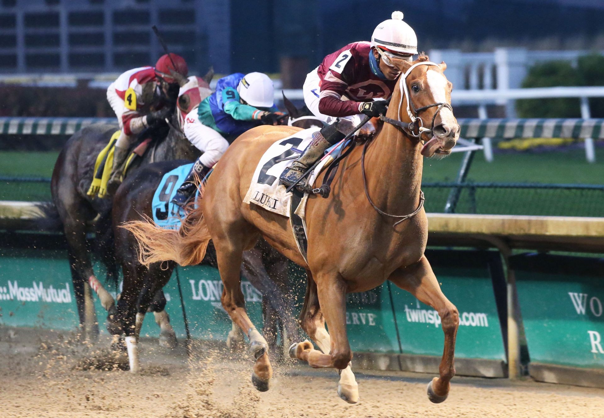 Finite (Munnings) Wins The Gr.3 Chilukki Stakes at Churchill Downs