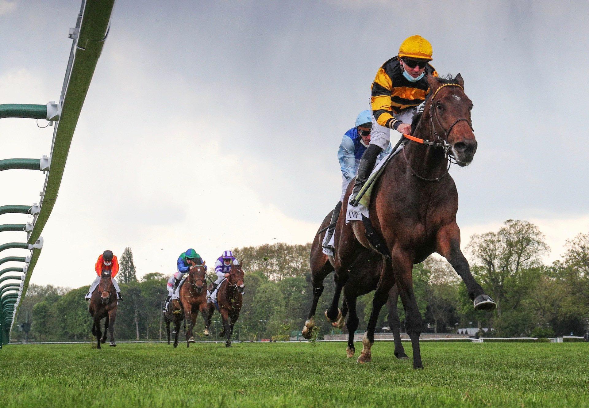 Fenelon (Fastnet Rock) Wins The Listed Prix De L' Avre At Longchamp