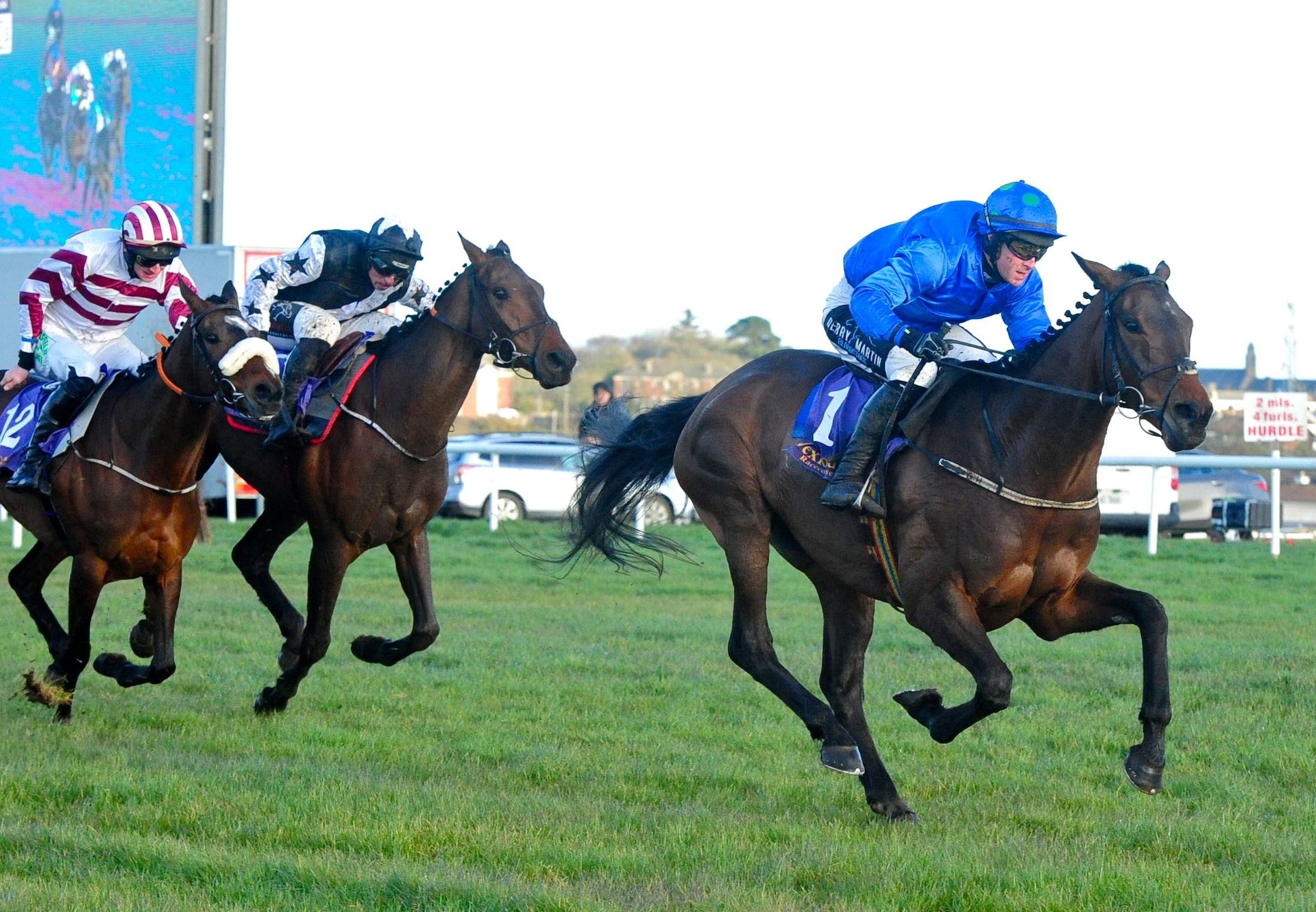 Fire Away (Getaway) Wins A Competitive Bumper At Wexford