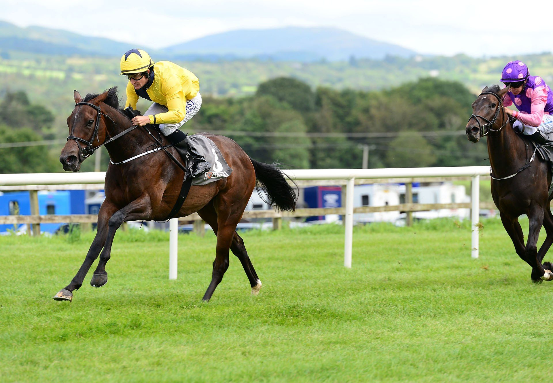 For The Trees (Ivawood) winning a maiden at Sligo