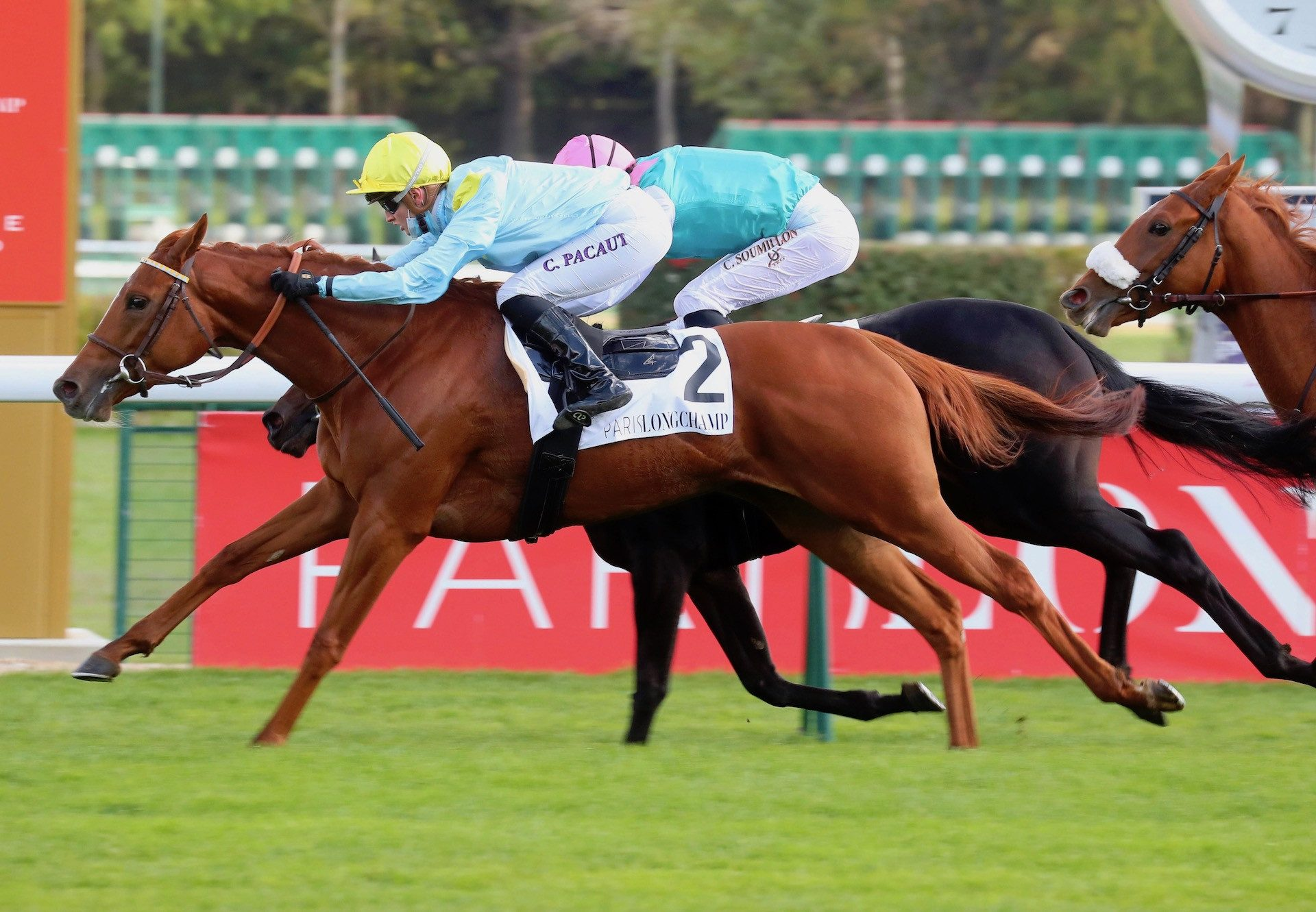 Frenchette (The Gurkha) Wins Her Maiden At Longchamp