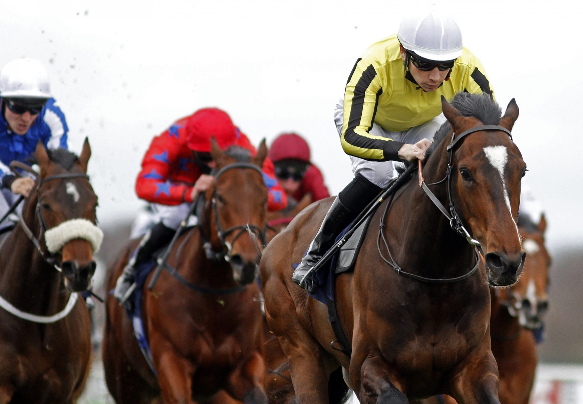George Peabody (Holy Roman Emperor) winning at Doncaster