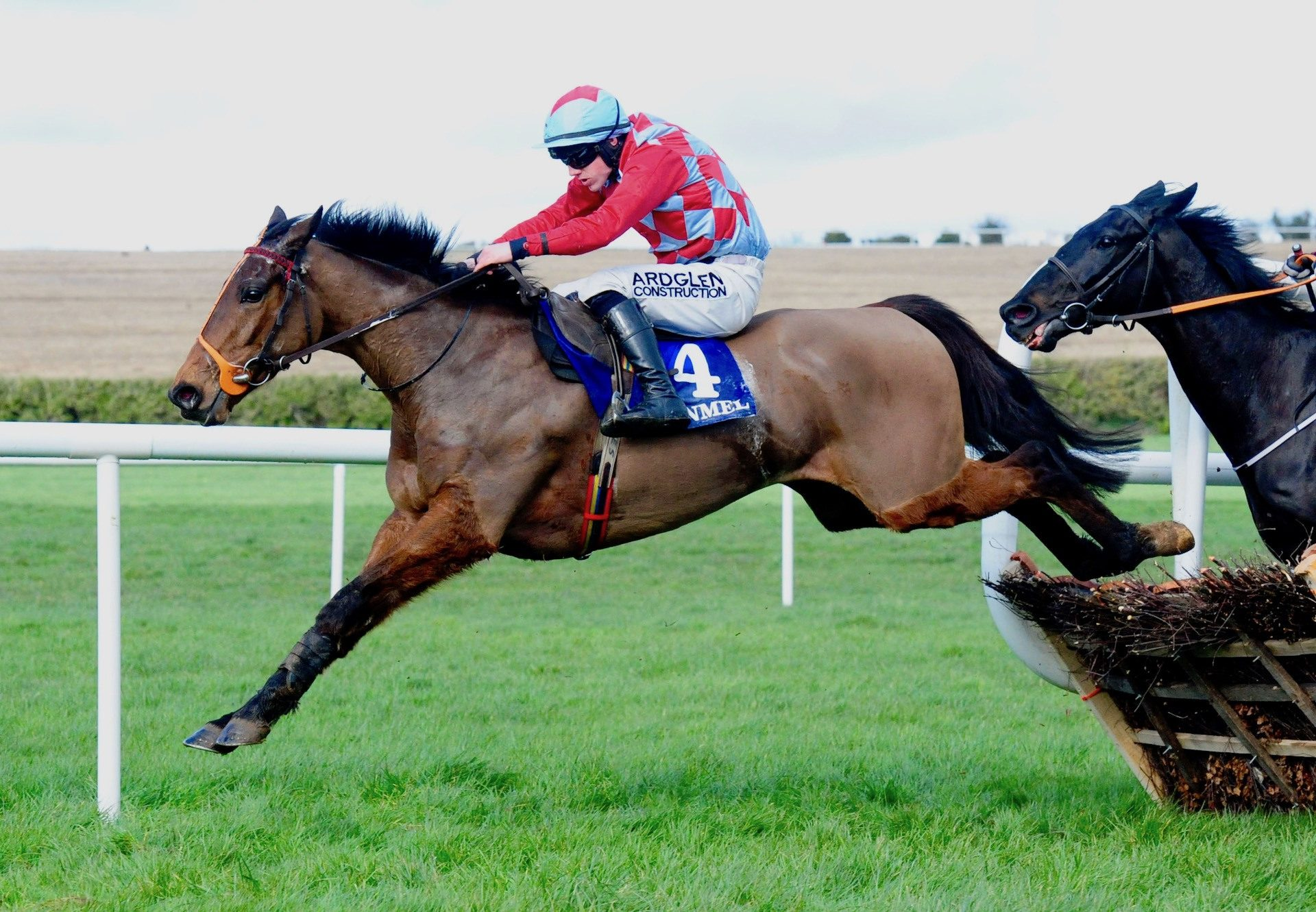 Groody Rover (Milan) winning maiden hurdle at Clonmel