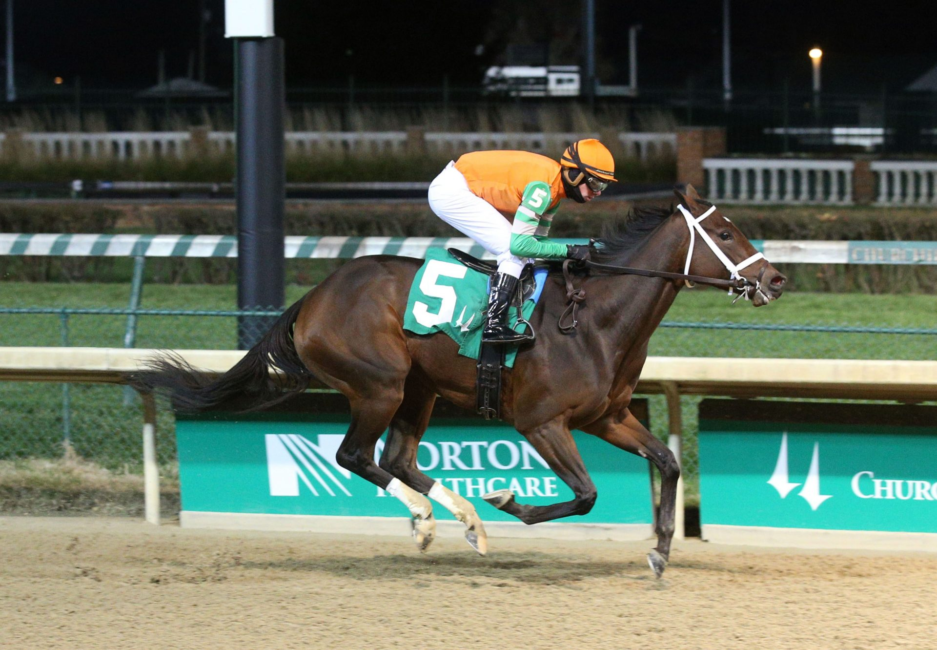 Hoppa (Uncle Mo) Breaking Maiden At Churchill Downs