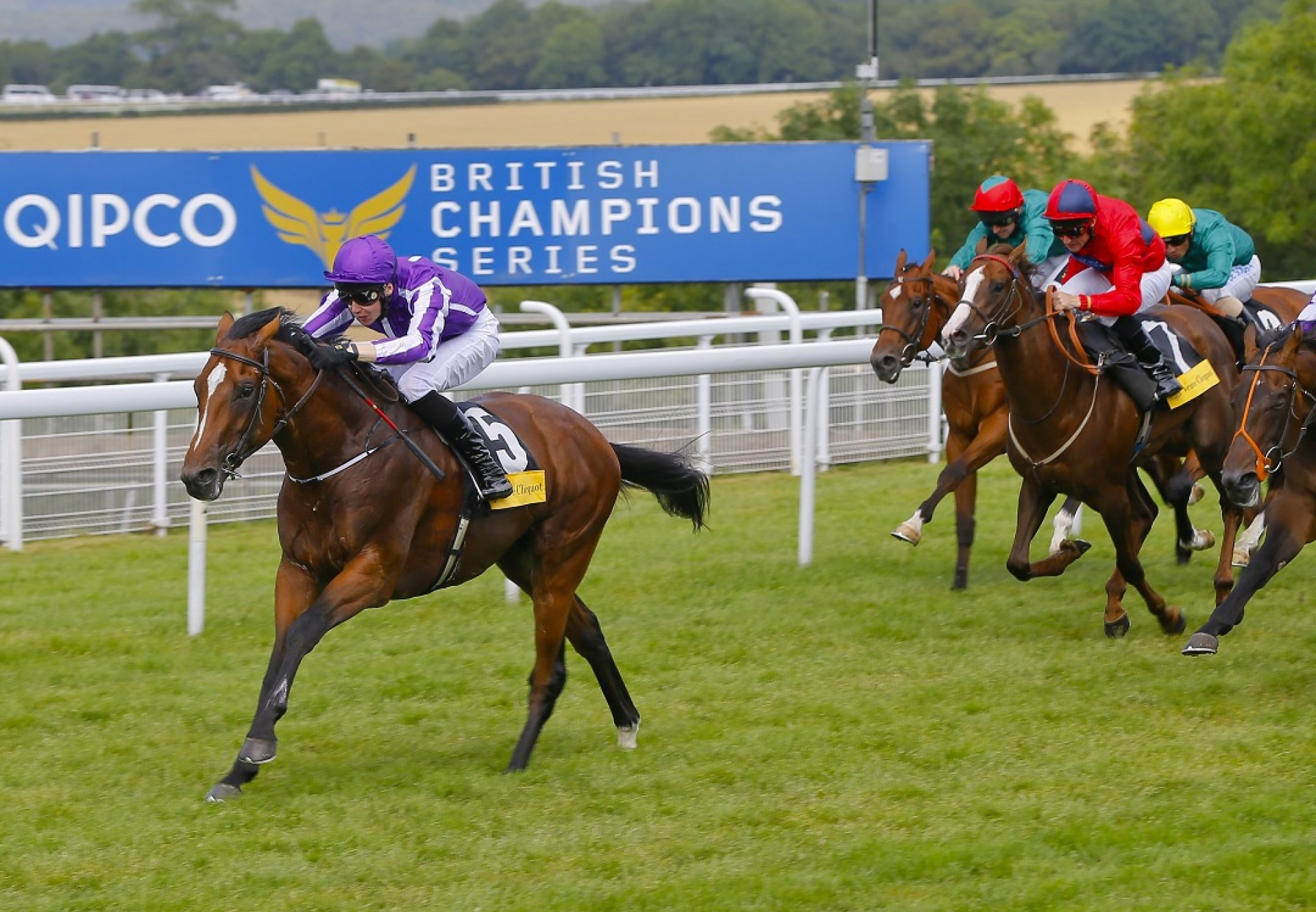 Highland Reel winning the Vintage Stakes