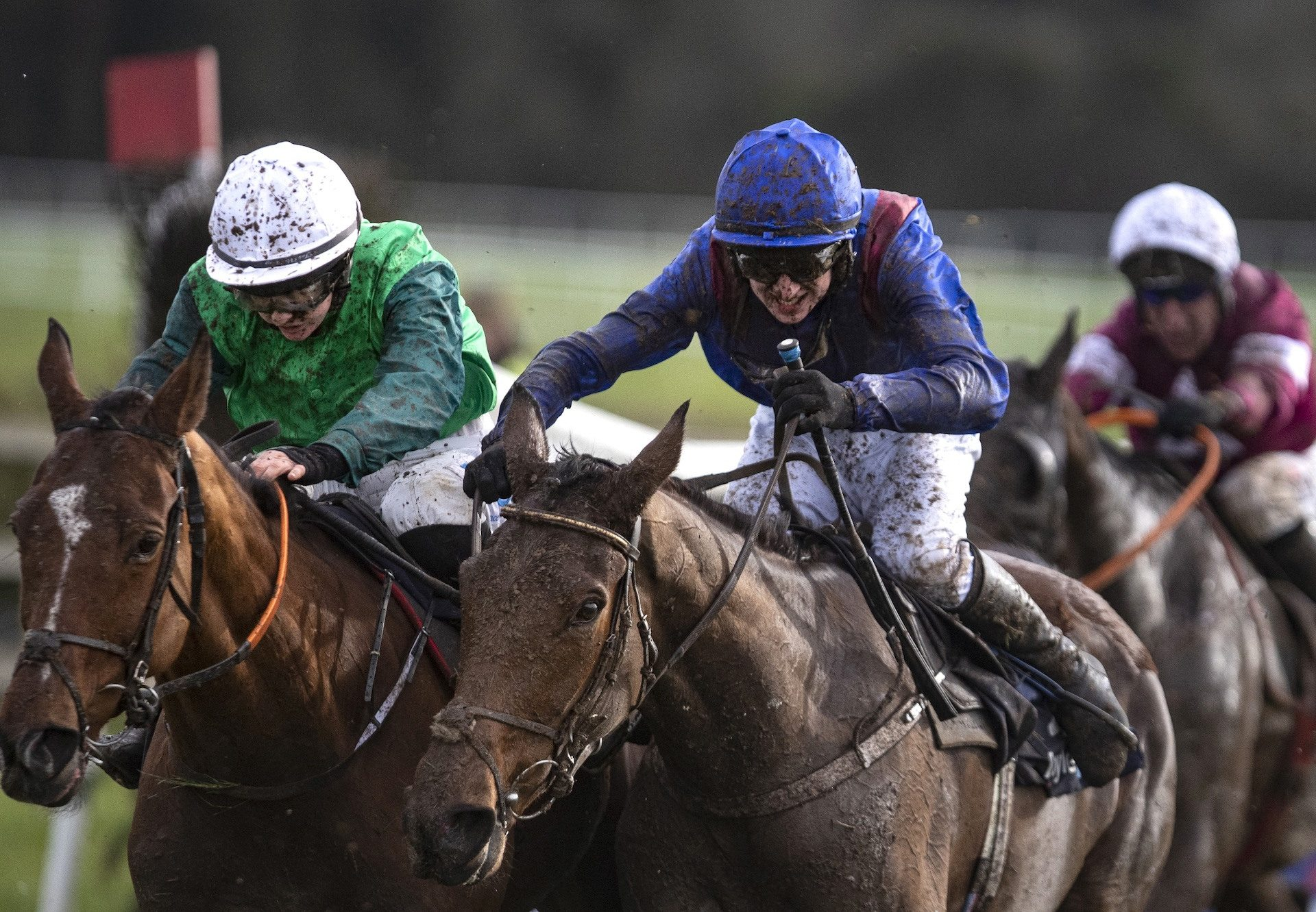 Ifyoucatchmenow Wins The Grand National Trial